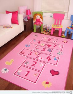 15 Kid's Area Rugs for More Enjoyable Playtime | Home Design Lover