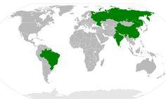 The BRICs overtake the G7