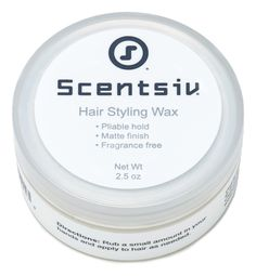 Scentsiv Unscented Fragrance Free Hair Styling Wax