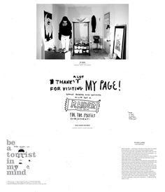 Website des Illustrators Ryan Grees