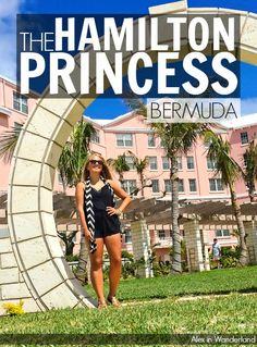 The Hamilton Princess in Bermuda really swept me off my feet in every way possible.  This enchanting hotel is gorgeous and welcoming and a fabulous place to relax and enjoy the energetic island nation of Bermuda   Alex in Wanderland