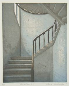 Elina Luukanen - Porrashuone II My favorite artist 3 Arts, Stairways, My Dream Home, Artsy Fartsy, Painting & Drawing, Modern Art, Art Drawings, Layout, Fine Art