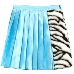 VFILES MINI SKIRT ❤ liked on Polyvore featuring skirts, mini skirts, bottoms, short mini skirts, blue mini skirt, mini skirt, elastic waist skirt and zebra skirt