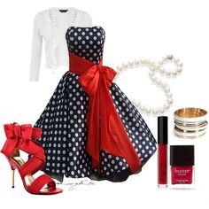 50s Style Dress