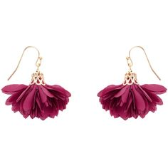 Accessorize Florrie Flower Short Drop Earrings (15 CAD) ❤ liked on Polyvore featuring jewelry, earrings, drop earrings, accessorize jewelry, accessorize earrings, blossom jewelry and flower jewellery