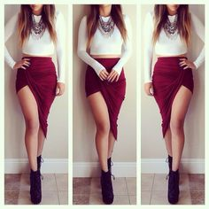Sexy Skirts #fall #buytrends #fashion #dress