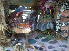 Here are some more pictures of our beautiful Fairy Castle. The first picture is of the kitchen | fairiehollow.com