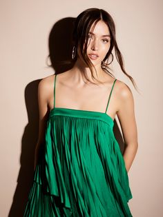 Acler Cedar Pleat Dress at Free People Clothing Boutique