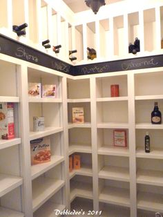 Kitchen pantry idea  Craft and home decorating ideas {Homerama in Charlotte, NC} - Debbiedoo's | Debbiedoo's