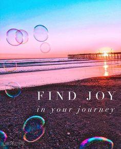 Find joy in your journey.  @chellyepic • Instagram photo @katewoznick www.californiadiy.com
