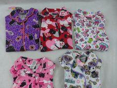 Girls Joe Boxer Pajamas Fleece Long Sleeve Set Dogs and Cats Unicorns Frogs New #JoeBoxer #PajamaSet