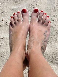 Love foot tattoos