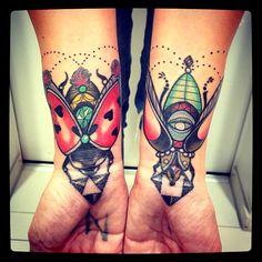 Tattoos done byBartosz Panas. @panas_bartosz