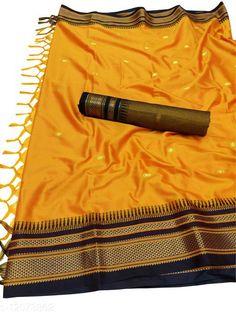 Sarees Hirkal Traditional Paithani Silk Sarees With Contrast Blouse Piece  (Mango & Black) Saree Fabric: Silk Blend Blouse: Separate Blouse Piece Blouse Fabric: Silk Blend Pattern: Woven Design Blouse Pattern: Woven Design Multipack: Single Sizes:  Free Size (Saree Length Size: 5.3 m, Blouse Length Size: 0.8 m)  Country of Origin: India Sizes Available: Free Size   Catalog Rating: ★4 (502)  Catalog Name: Aakarsha Fashionable Sarees CatalogID_2303917 C74-SC1004 Code: 956-12073862-1371