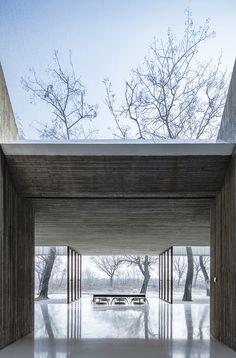 archstudio waterside buddhist shrine china designboom
