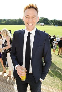 Tom Hiddleston attends day 1 of the Audi Polo Challenge at Coworth Park Polo Club on August 3, 2013 in Ascot, England [HQ]