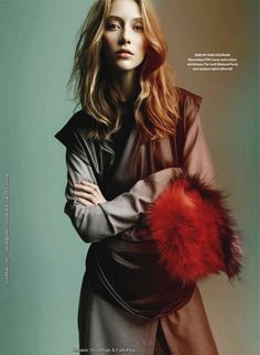 the new look: alana zimmer by leda and st.jacques for elle canada september 2011 | visual optimism; fashion editorials, shows, campaigns & more!