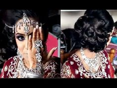 Elegant and Contemporary Hairstyling Asian Bridal Makeup