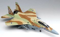 F-15I Raam Israeli Fighter 1/48 Academy Assembly Required Skill Level 2. Ages 12 and up..  #AcademyModels #Toy