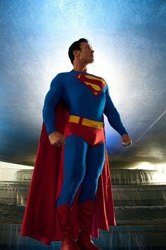 Character: Superman (Kal-El, aka Clark Kent) / From: DC Comics 'Superman' & 'Action Comics' / Cosplayer: Danny Kelley (aka Superman Cosplay, Superman Art, Superhero Cosplay, Superman Family, Superman Man Of Steel, Dc Cosplay, Best Cosplay, Superman Stuff, Superman Costumes