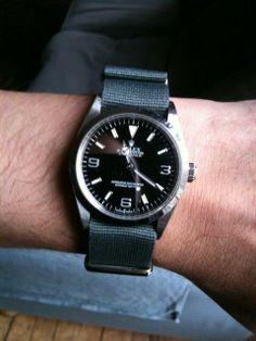 Love a NATO on Rolex explorer