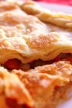Lakror  Albanian savory pie recipe