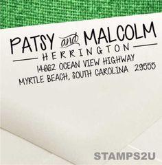 Self Inking Address Stamp Return By STAMPS2U