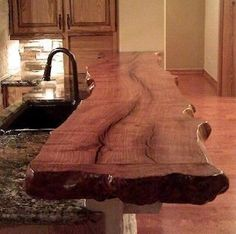 This looks just like ours!!! Well...except the granite counter top.