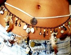 summer belly jewelry