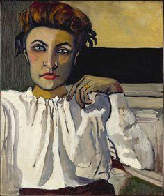 <p>Alice Neel.<em> Elenka, </em>1936. Oil on canvas, 61 x 50.8 cm. The Metropolitan Museum of Art, New York, gift of Hartley S. Neel and Richard Neel.