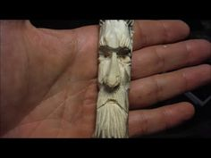 How I Carve Spirit Faces Most of the Time - YouTube