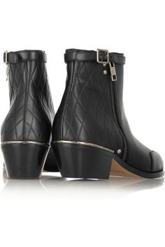 Chloé|New Susanna embossed leather boots|NET-A-PORTER.COM