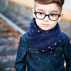 Boy with style!