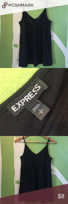 Express black tank, size S, like new! Express black cami tank, size S, like new! Express Tops Tank Tops