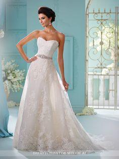 David Tutera - Skylar - 216259 - All Dressed Up, Bridal Gown