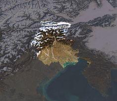 Un occhio dallo spazio al confine orientale / Italy / ESA in your country / ESA