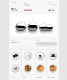 Maru - Japanese Design and Craft - Webdesign inspiration www.niceoneilike.com