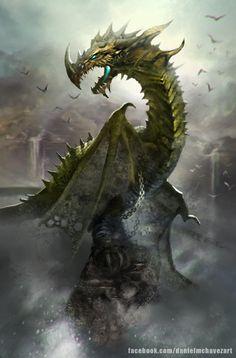Dragon by danielmchavez - Daniel M Chavez - CGHUB