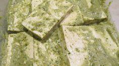 Green Marinade for Tofu American Vegetarian: May 2013 #vegan #vegetarian #tofu