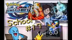 v6.0 REVIEW!   Duel School #17 KYUREM FUSION!   Pokémon Duel v6.0 Pokemon Duel, Ice Dragon, Beast, School