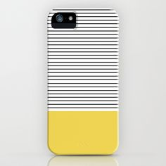 MINIMAL Green Stripes iPhone & iPod Case (http://society6.com/product/minimal-green-stripes_iphone-case)