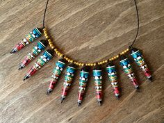 Aztec Spike Necklace-Sold, was £16.