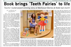 Teeth Fairies are so excited to be featured in The Manhasset Times today!     Check out our article and the rest of the newspaper here: http://qoo.ly/9ijbx/0