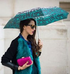 Teal Umbrella.  Have Teal Fashion and Products!  Teal is the Color of Ovarian Cancer Awareness!