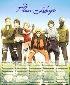 Plan Lekcji - Team 7 - Naruto