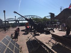 Mobile solar panels Marine Week Nashville TN September 7, 2016