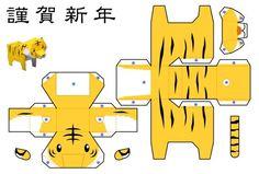 Il s'agit d'un paper craft qui avait été réalisé pour le Nouvel An chinois de 2010. Un félin plutôt attendrissant qui a été créé par les Japonais du Studio Waka. A télécharger gratuitement en lisant la suite… A noter queLire la suiteTigre en Papercraft