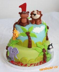 2 x dorty se zvířátkama - SAFARI / FARMA