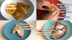 Crepes/Κρέπες 4 Ways