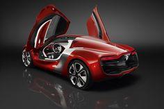 car, batmobil in red?